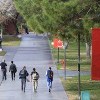 UNLV campus (Las Vegas Review-Journal file photo)