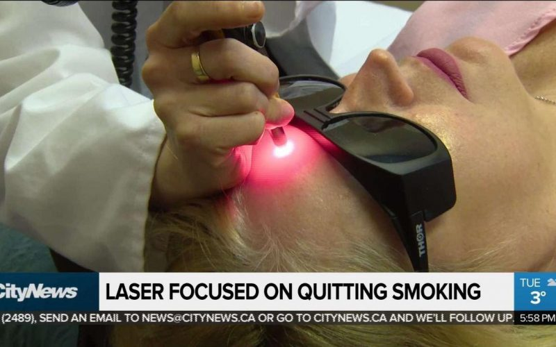 Can lasers help you quit smoking?