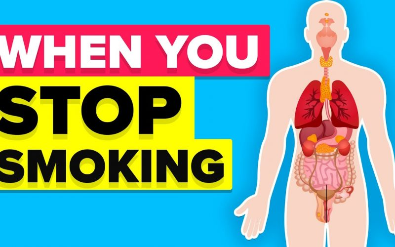This Is What Happens To Your Body When You Stop Smoking Tobacco