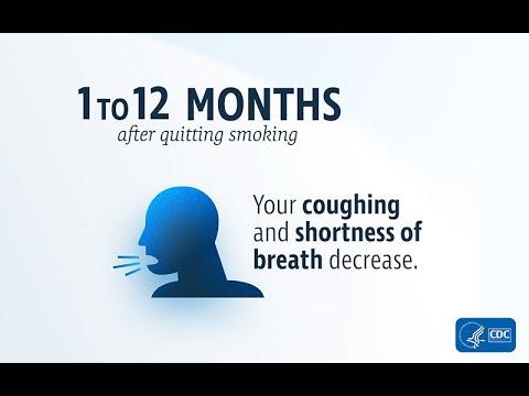 Quitting Smoking Makes Breathing Easier