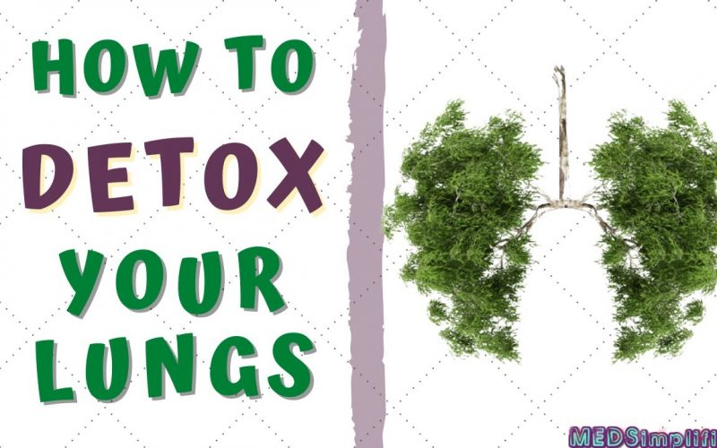 HOW TO DETOXIFY YOUR LUNGS AT HOME- Lung Detoxification for Smokers