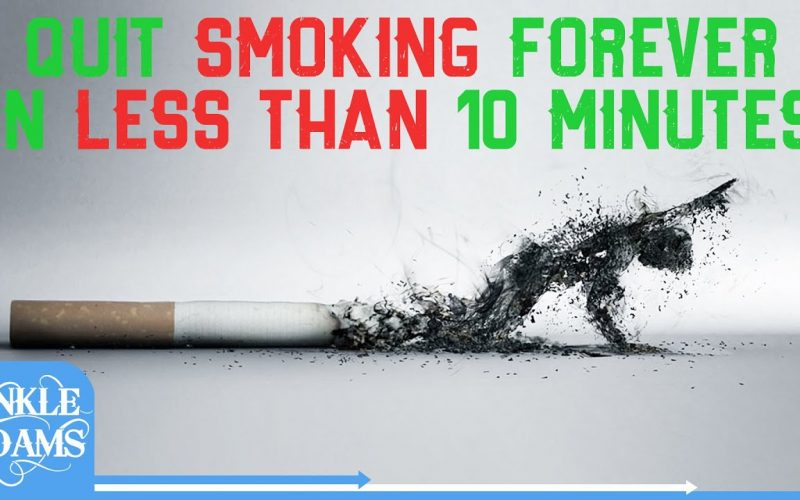 How To Quit Smoking (FOREVER IN 10 MINUTES)