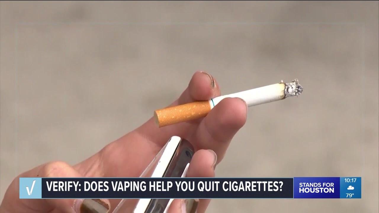 VERIFY: Does vaping help you quit cigarettes?