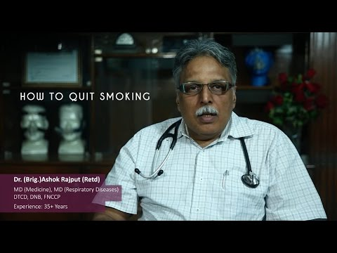 How to quit smoking? Advice by doctor
