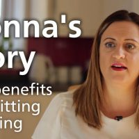 Donna's story - the benefits of quitting smoking